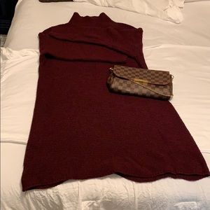 Dresses & Skirts - ✨B1G1✨ Wine Colored Sweater Dress